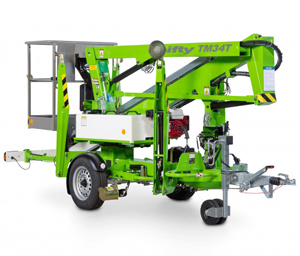 Nifty Lift TM34T Trailer Mounted Cherry Picker